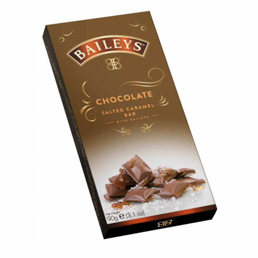 Baileys - Salted Caramel Truffle Bar Milk Chocolate Lir 90g